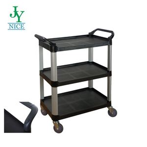 Heavy Duty Rolling Warehouse Platform Cart with wheels cargo moving hand trolleys