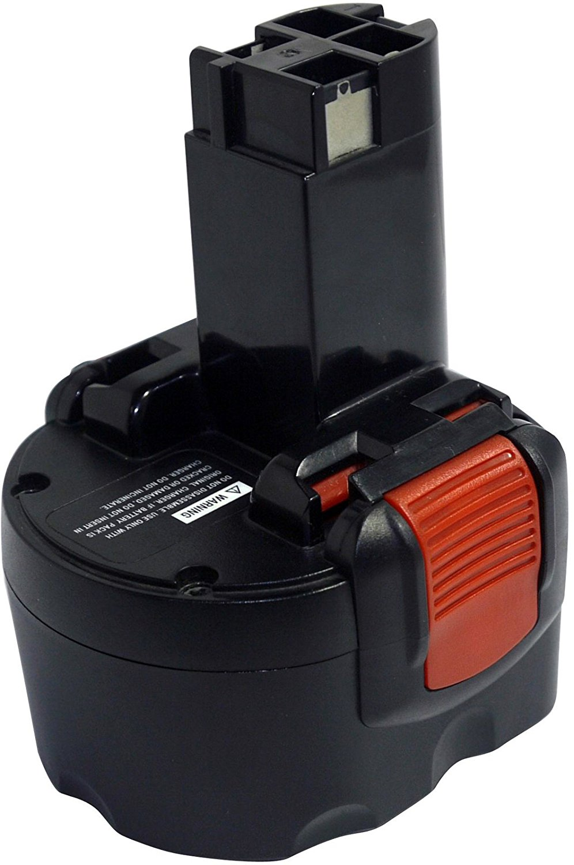 PowerSmart® 9.6V 2000mAh Ni-Cd BAT048, BAT100, BAT119, BH984, BPT1041 Battery for Bosch GDR 9.6 V, GSR 9.6 (New Version), PSR 9.6 VE-2