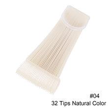 Накладные ногти, цветной дисплей, круглые веерные накладные ногти, Гель-лак для нейл-арта, набор инструментов для маникюра, тренировка, TRA23(Китай)