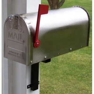 Hot sale American style steel mailbox for garden