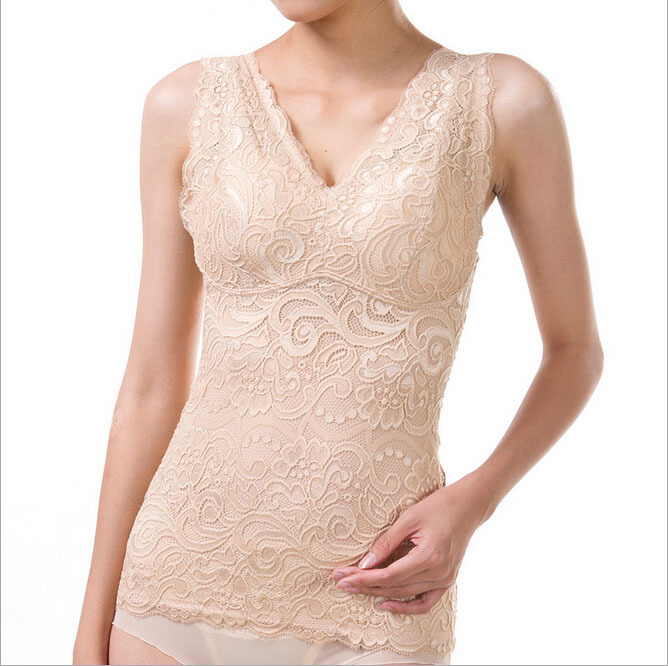 Asian SZ Summer Lace Magic Body Shapers Corsets Withbra Tight Tops Waist Shapers Shapewear Underwear Plus size Body Shapers