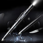 customized logo advertising ballpoint pen glass breaker tactical pen self defense tool