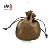 High fashion colorful velvet drawstring gift bags