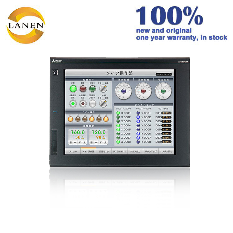 Touch screen PLC hmi all in one Hot koop 12.1 ''inch Mitsubishi HMI touch screen GT2310-VTBD in voorraad