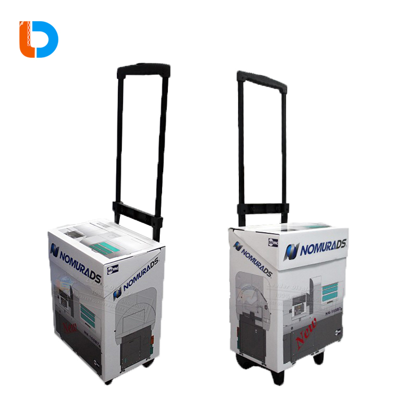 Promotional Custom Wholesale Bag Cardboard Paper Trolley