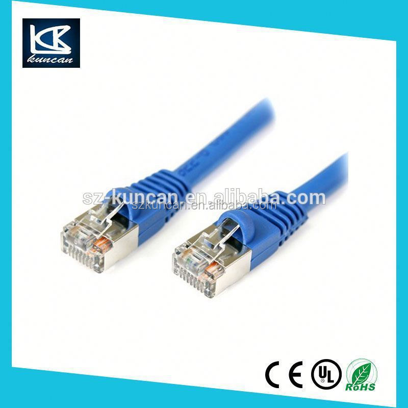 cat6 full copper lan cable with RJ45 8p8c connector