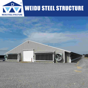 Steel structure farm house poultry farm shed chicken/ hen/duck house