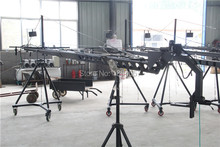 Manufacturers-crane jib Professional 10m2-axis dutch head triangle jib video camera crane for film shooting