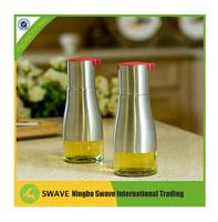 2pcs/set vinegar dispenser cooking olive oil glass bottle, olive oil glass bottle