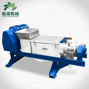 2018 popular product cane juicer machine fiber extracting machine food waste processor