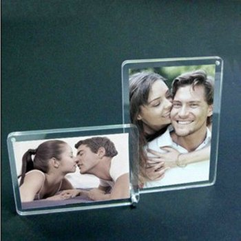 Best Selling Acrylic Fridge Magnet Photo Frame/square Acrylic ...