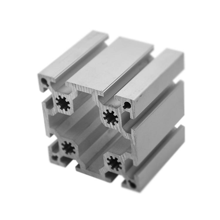 V Slot Silver Anodized Industrial Non Standard Fa Line