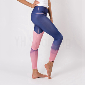 Newest Hot sale best fabric supplex tights fitness wearing yoga leggings for women