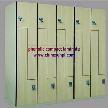 Hight quality advanced electronic hpl locker cabinet with stainless