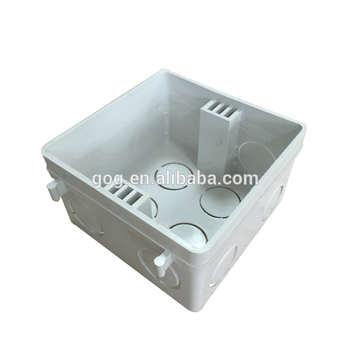 Pvc Electrical Switch Box Plastic Switch Box Wall Mount Light Wall