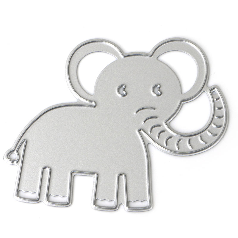 Elephant Cutting Dies Scrapbook Tool Album Paper Card Beauty Lovely Embossing -W210