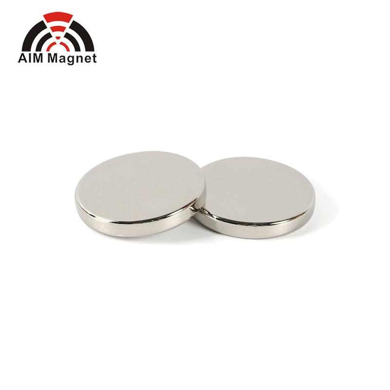 2x Forte Magnete al Neodimio sottili 15 mm x 8 mm x 2 mm TERRE RARE NEO Blocco Magneti