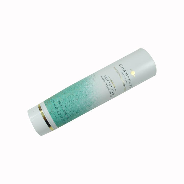 Wholesale high gloss 50ml 75ml 80ml 100m hair mask tube hand cream tube ABL aluminum laminate tube with PP flip top cap