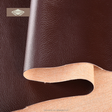 high quality solid color pu synthetic leather for sofa