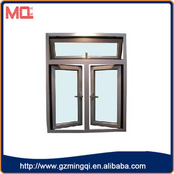 Modern Design Cheap Aluminium Casement Window +Awning Window