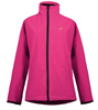 womens bomber pu coating light jacket