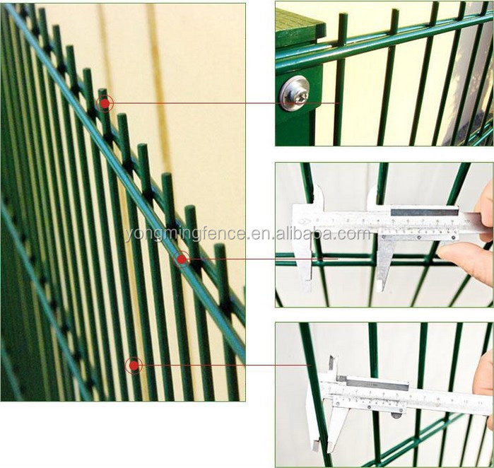 Decorative Garden Special Ornamental Double Loop Wire Mesh Fence For ...