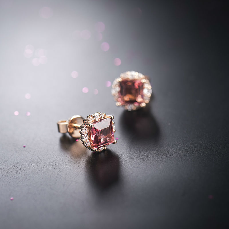 Single Stone Gold Stud Earrings Supplieranufacturers At Alibaba
