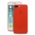 For IPhone 8/8 Plus Case, Ultra Thin Hard Cover[0.35mm] Protect Bumper Soft Slim Fit Shell [Semi-transparent][Matte Red]