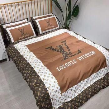 cotton bed sheet famous designs printed bedding set