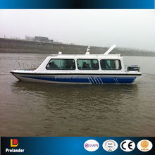 Hot Sale fiberglass passenger boats for sales