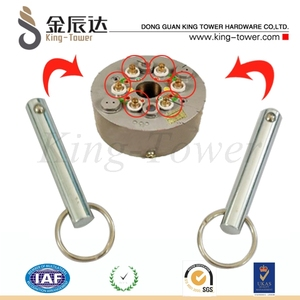 starter screw hardware /key chain train starter screw (with ISO and RoHs certification)