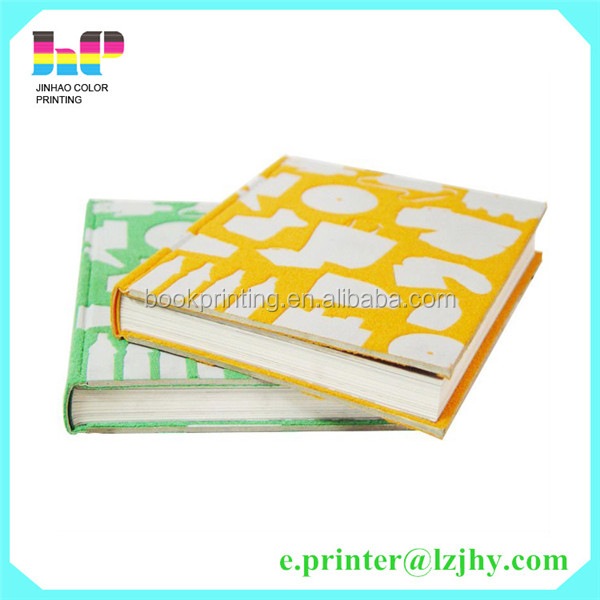 Eco-friendly Hardcover Book Printing high quality printing company in china
