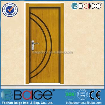 BG-W9319 Cheap Wooden Internal Door / Wood Paint Free Door, View ...