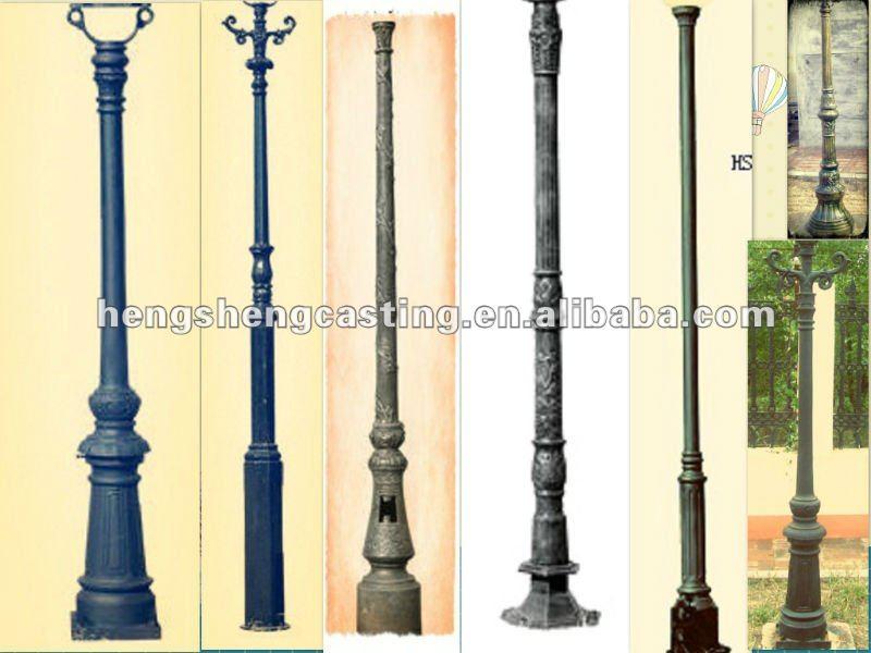 Cast Aluminum Street Lamp Post - Buy Lamp Post,Cast Aluminum Lamp ...