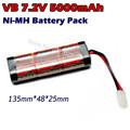 VB Power Racing SC 5000mAh 7 2V NiMH Battery Pack For AXIAL SCX10 Traxxas Slash RC