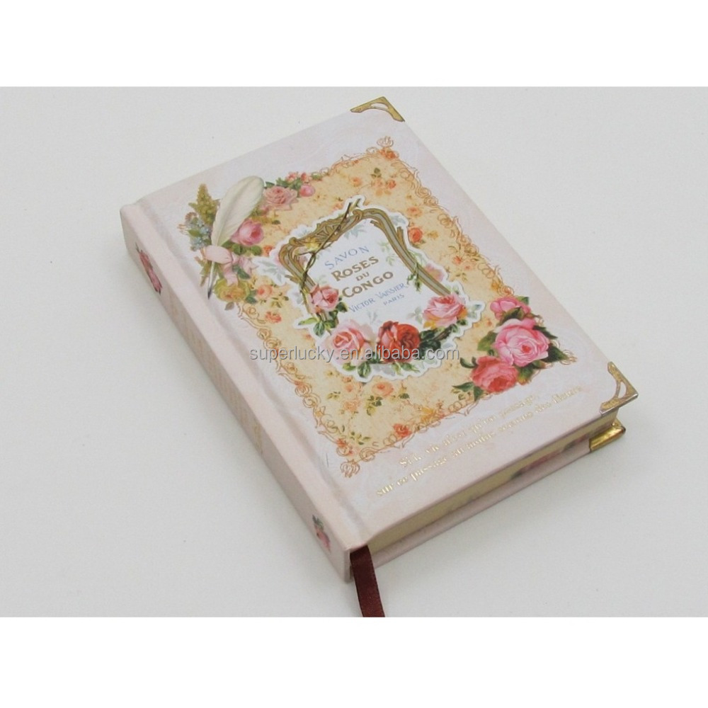 Braunes Papier Kawaii Fancy Notebook