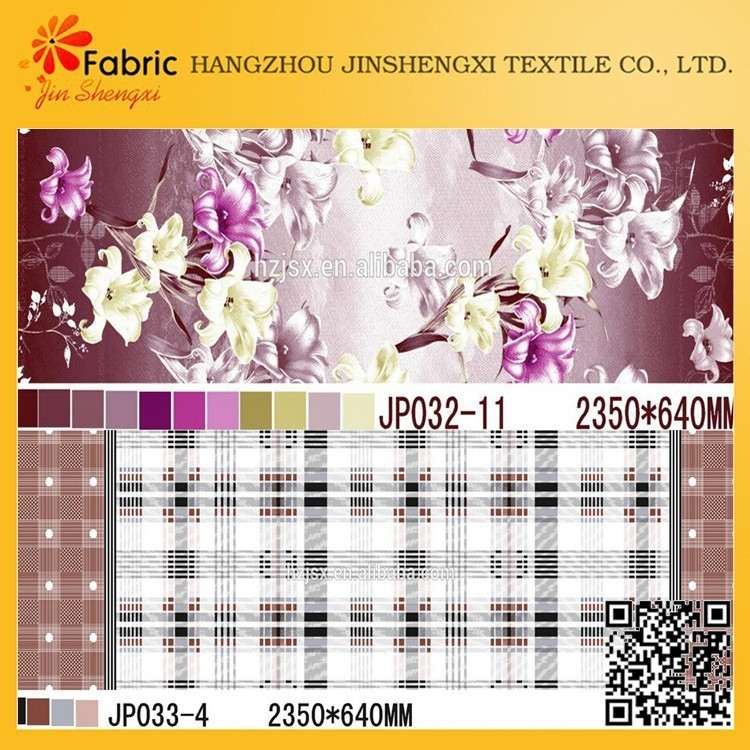 Best quality custom flower bedding fabric african cotton prints