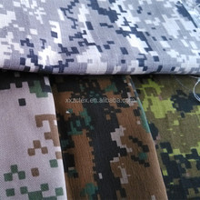 T/C polyester/cotton army digital camouflage uniform twill fabric