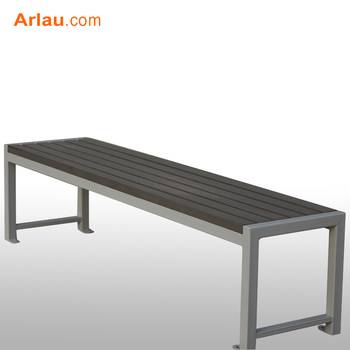 Brilliant Backless Wooden And Steel Tubeleisure Bench Buy Modern Outdoor Wood Bench Simple Wooden Bench Design Solid Wooden Outdoor Bench Product On Gmtry Best Dining Table And Chair Ideas Images Gmtryco