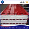 Low cost building materials easy installed waterproof Polyurethane and EPS roof sandwich panel