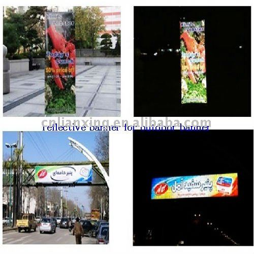 reflective flex outdoor sign board material