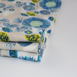 Shaoxing textiles single jersey poly spun fabric polyester printing for wear shirt