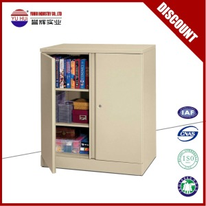 2 door small file cabinet / half height steel cabinet with 2 shelf /godrej steel almirah models