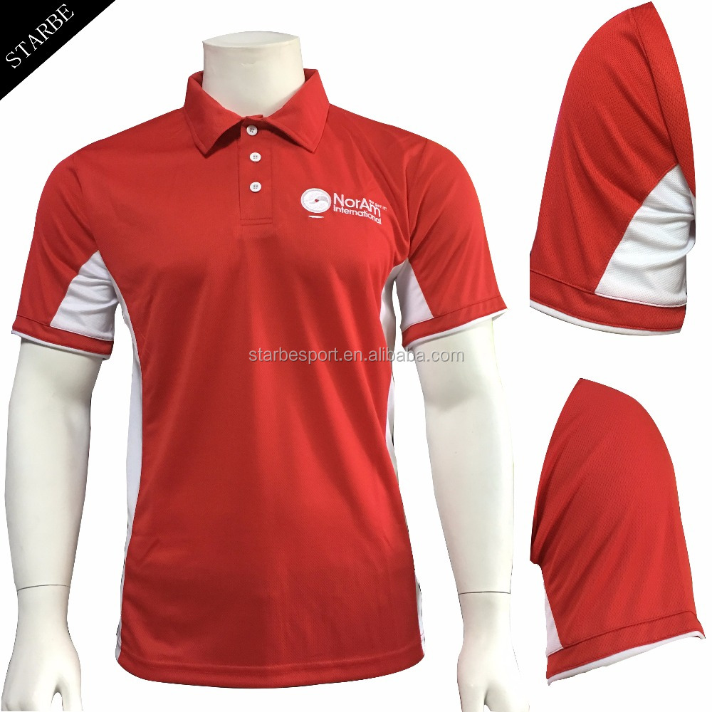 customized dri fit golf polo shirt embroidery logo for men