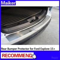 Auto parts Rear Bumper Protector For Ford Explorer 13+ Rear Bumper Footplate SUV accessories
