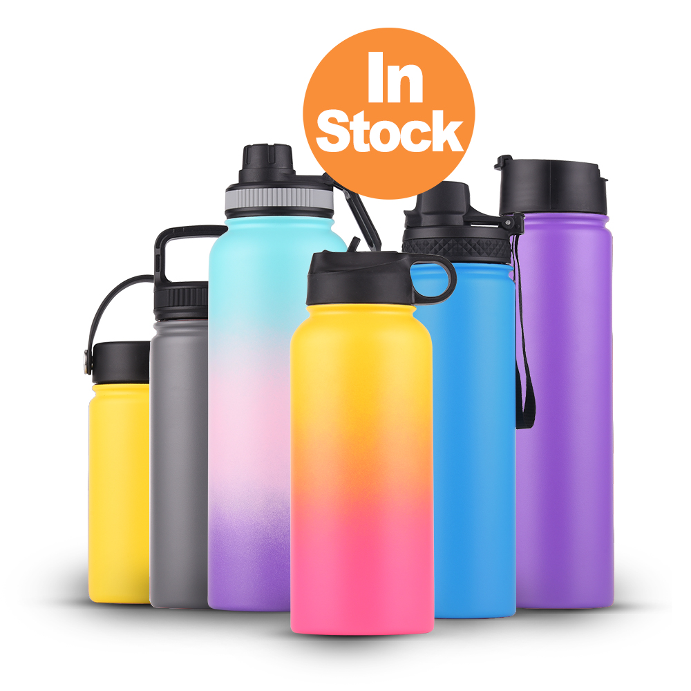 Wholesale Powder Coated Small to Big Hot Coffee Double Wall Tea Thermos Water Colorful Stainless Steel Vacuum Insulated Thermos