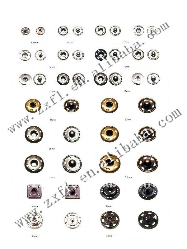 Bulk Round Gold Sew-on Snap Fastener For Clothing - Buy Snap Fastener,Snap  Fasteners For Leather,Sew-on Snap Product on Alibaba com