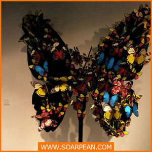 Butterfly Hanging Decoration Amazing Handmade Paper Natural elf Butterfly