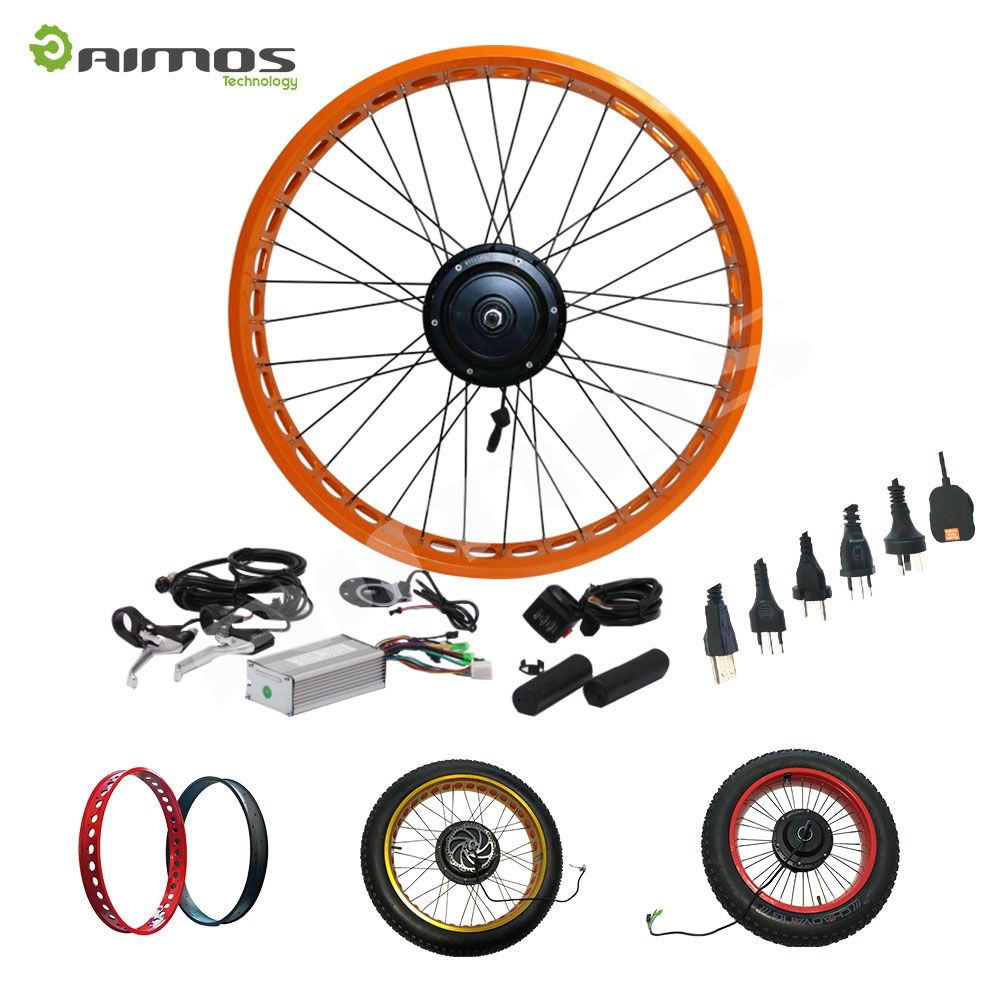 48v 1000w 1500w 2000w high speed rear motor e bike conversion kit with battery