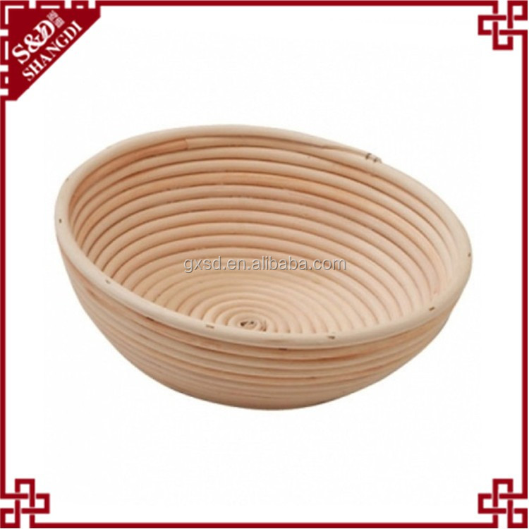 Used for the rising or proofing bread dough banneton proofing basket